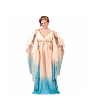 Greek Goddess Womens plus size Costume