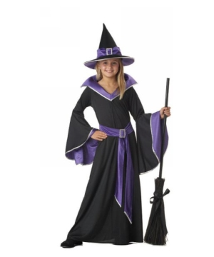 Incantasia Glamour Witch Kids Costume