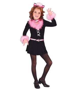 Marabou Cat Girls Costume