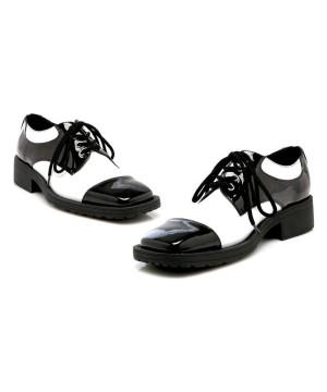Mens Oxford Blackwhite Shoes
