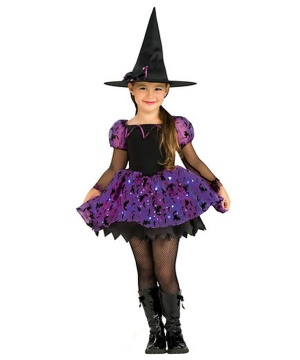 Moonlight Magic Witch Kids Costume