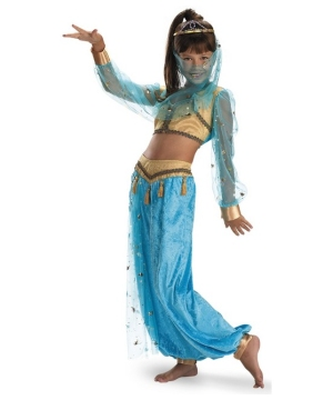 Mystical Genie Girls Costume