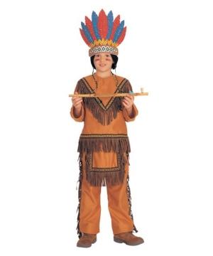 Native American Chief Boys Costume
