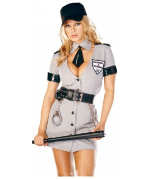 Corrections Officer Womens Costume