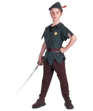 Peter Pan Disney Boys Costume