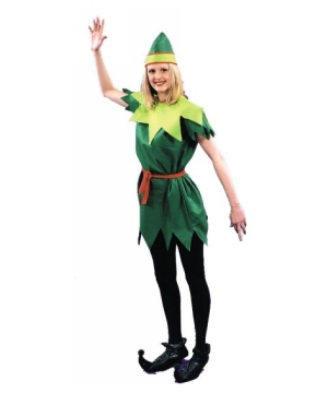 Peter Pan Lady Adult Costume