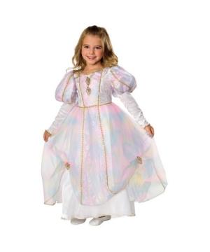 Rainbow Princess Kids Costume