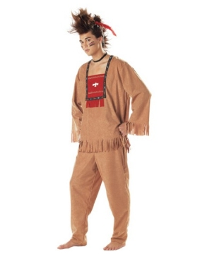 Running Bull Indian Mens Costume