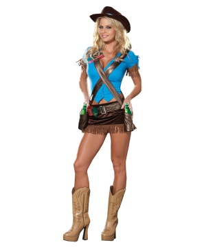 Sexy Cowgirl Women Costume