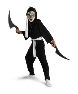 Skull Ninja Boys Costume