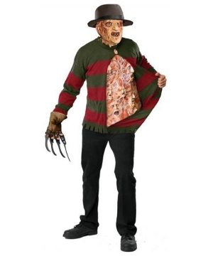 Freddy Chest of Souls Sweater Mens Costume