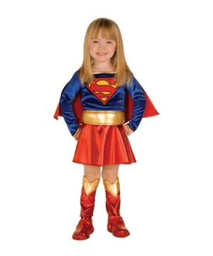 Super Girl Toddler Costume