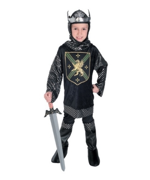 Warrior King Boys Costume