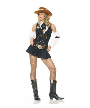 Wild West Sheriff Women Costume