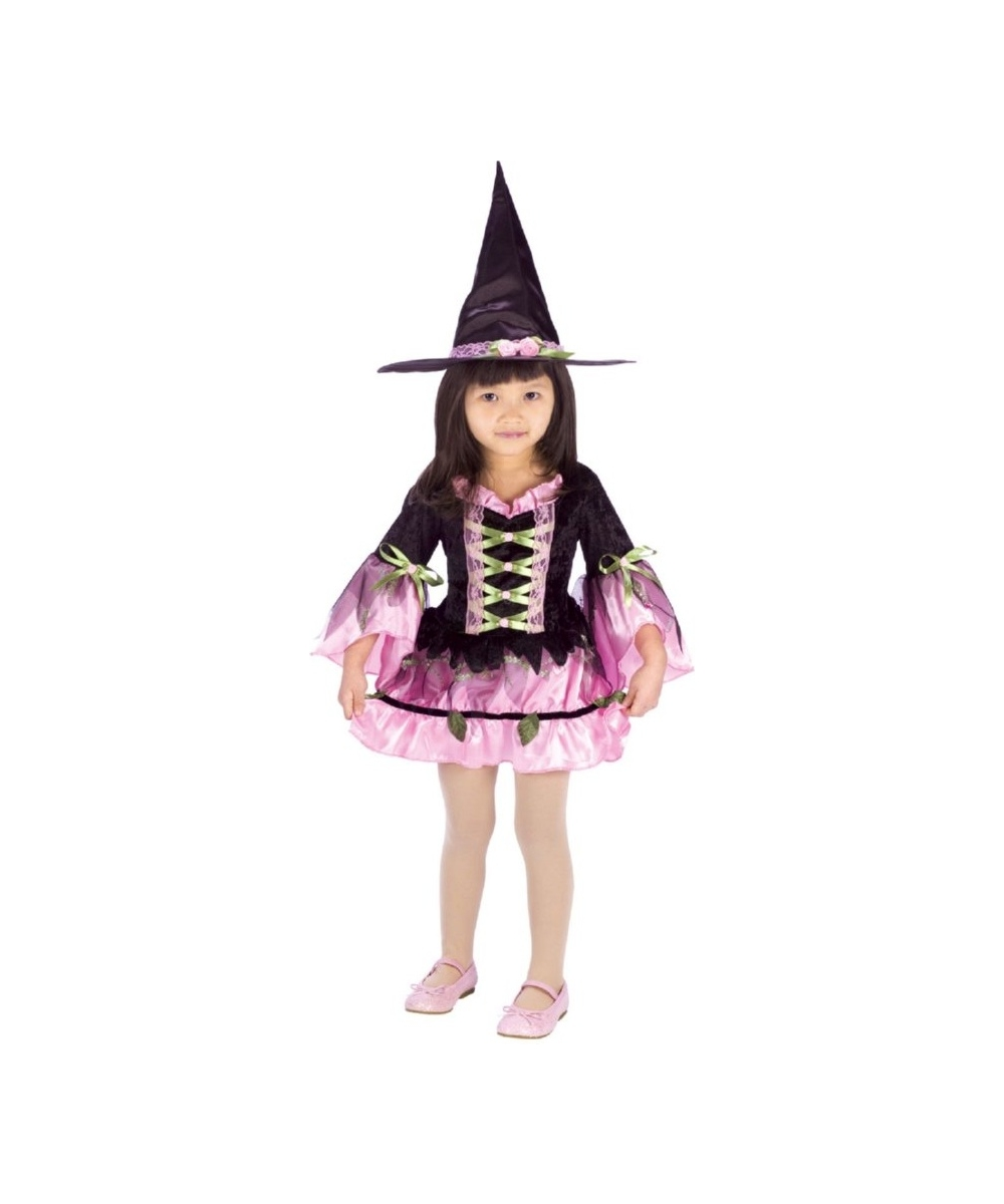 Blossom Witch Kids Costume