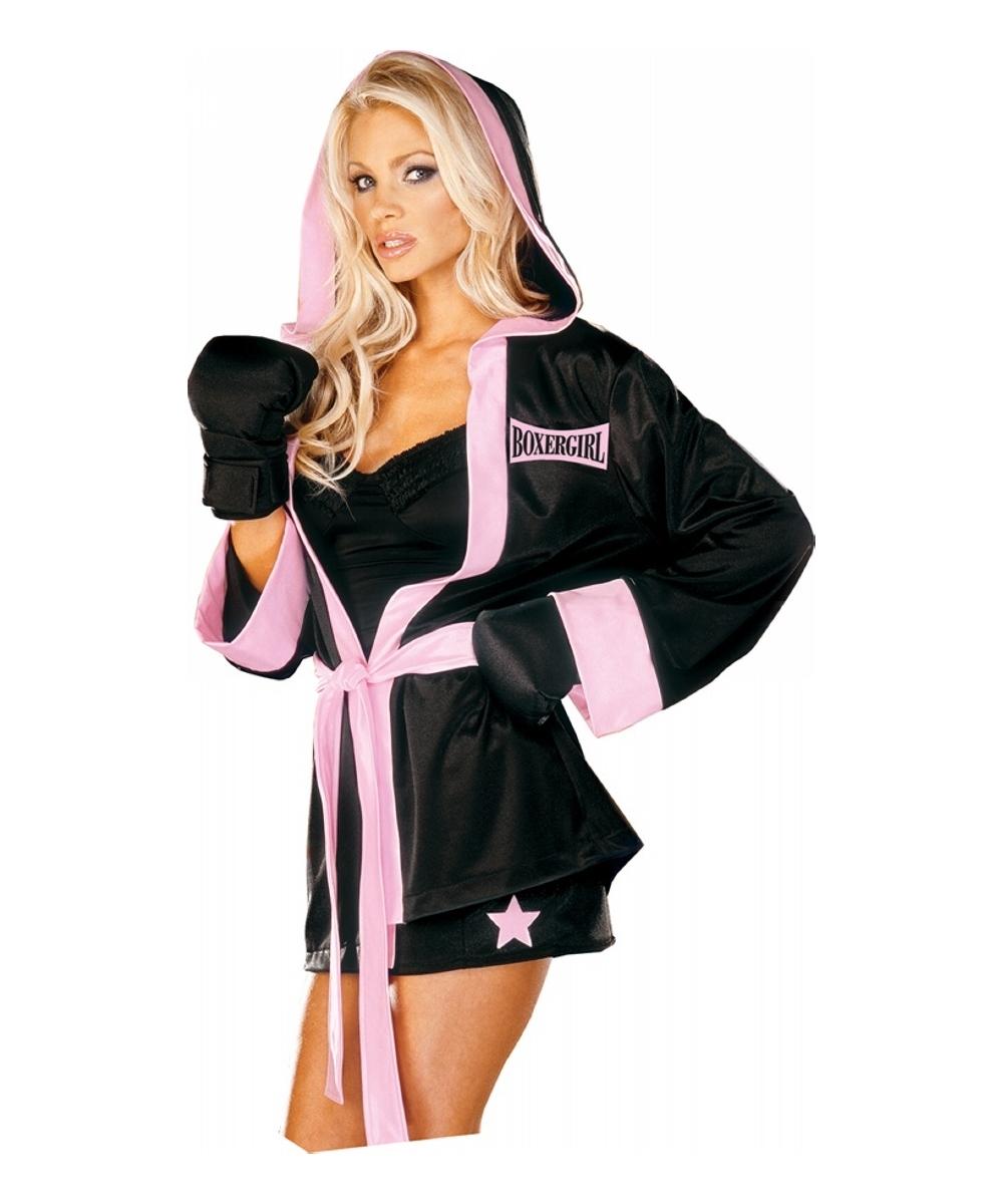 Adult Boxer Girl Sports Costume - Women Costume