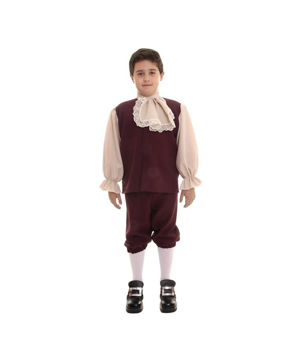 Colonial Boys Costume Boy Costumes