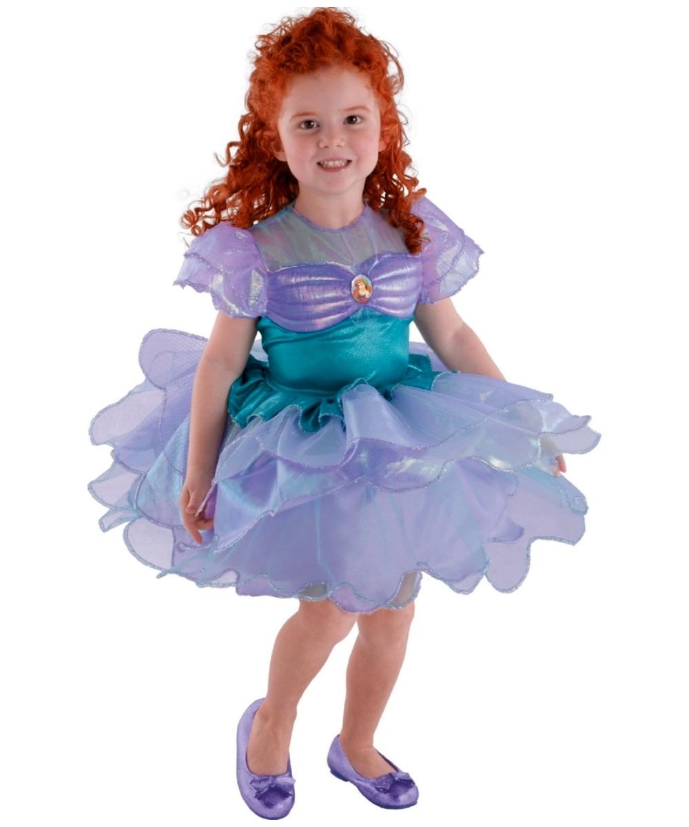 Ariel Ballerina Disney Princess Kids Costume - Girls Disney Costumes - Toddler Disney Outfits Oncity Fashion