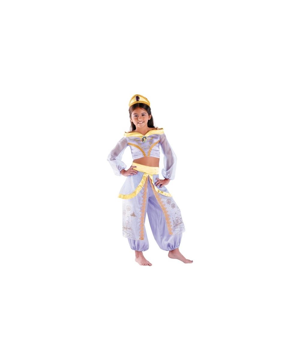 jasmine kids disney costume girl jasmine costumes. Black Bedroom Furniture Sets. Home Design Ideas