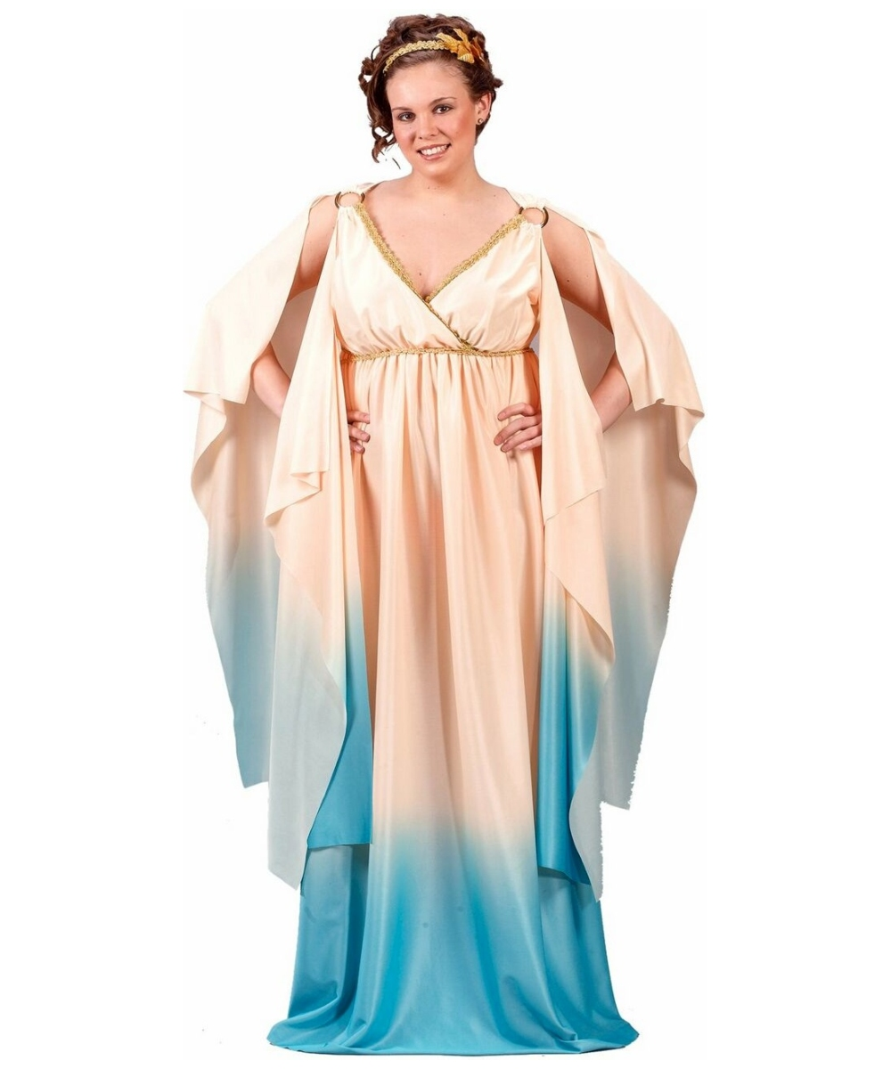 greek goddess halloween adult costume plus size greek costumes. Black Bedroom Furniture Sets. Home Design Ideas