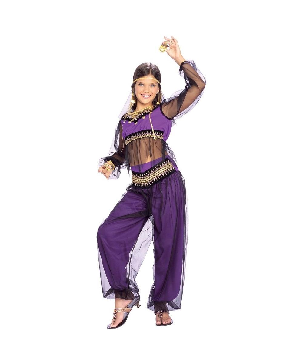 Harem Jewel Girls Costume