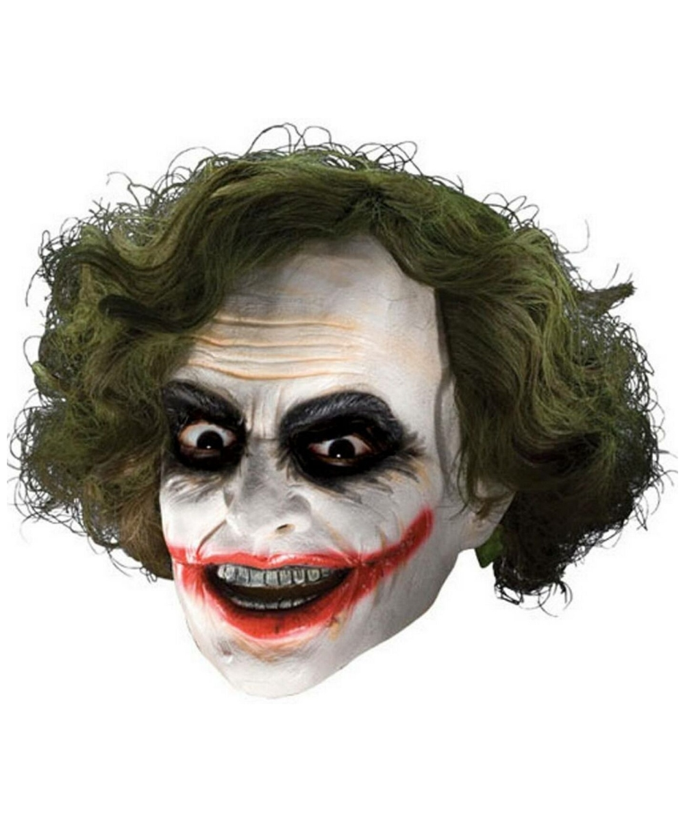 kids the joker 3  4 mask with hair