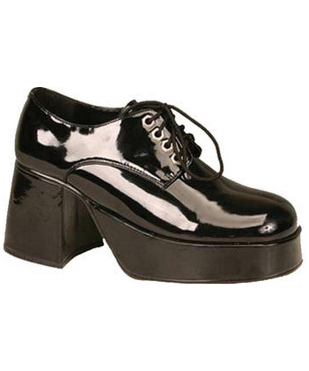 platform black pat shoe s