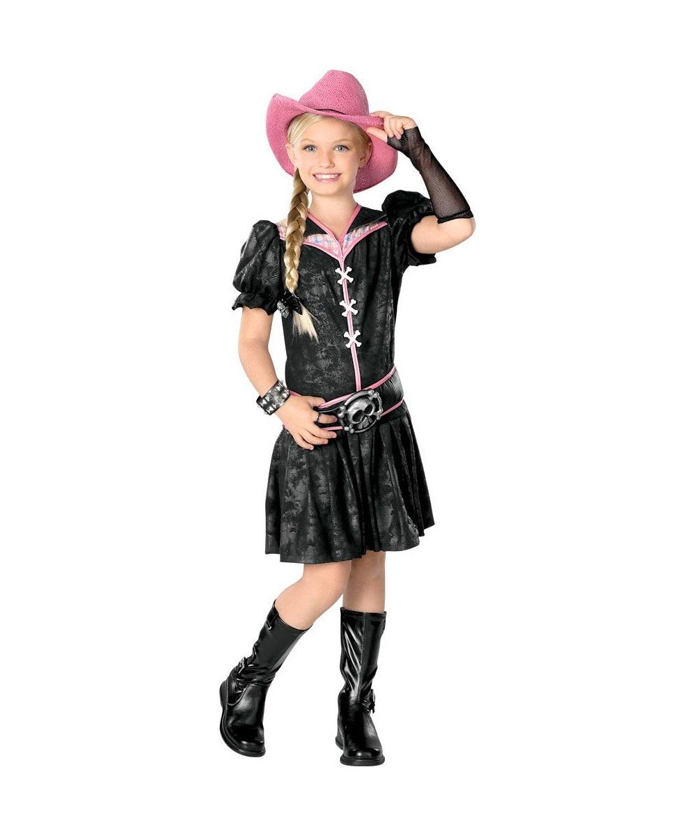 Rockabilly Kids Cowgirl Costume Girls Costume