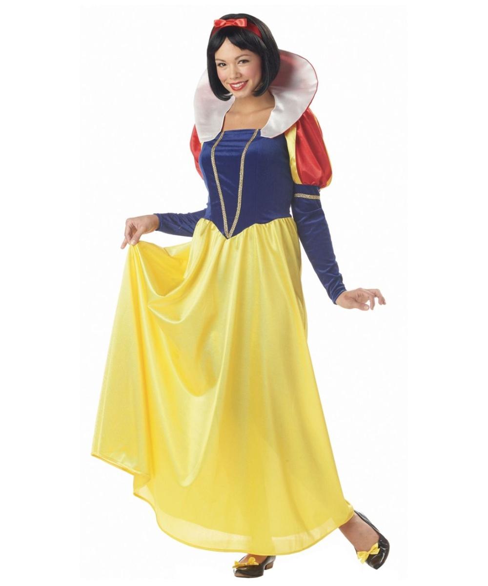 Snow white adult costume congratulate