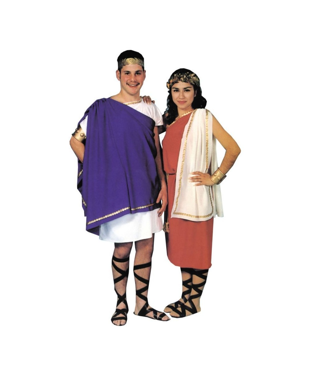 how to wear a toga man