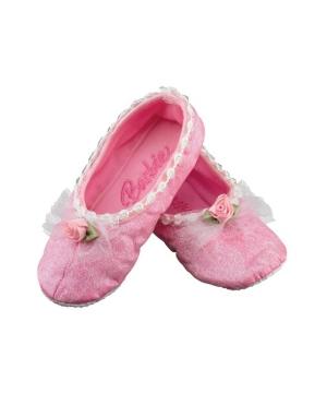 Barbie Ballet Slippers Kids Shoes
