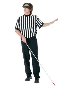 Blind Referee Men Costume