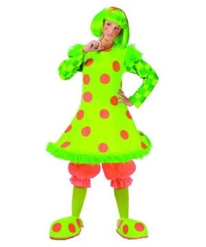 Clown Lolli Women Costume