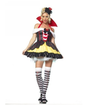 Miss Queen of Hearts Women Costume