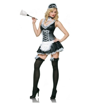 Naughty French Maid Women Costume