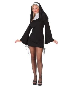 Nun Naughty Women Costume
