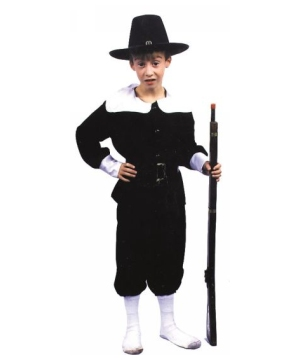 Pilgrim Boys Costume