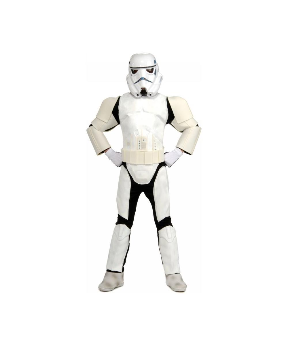 Stormtrooper Child Deluxe Costume - Kids Halloween Costumes