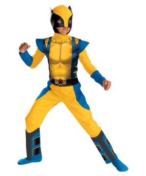 Boys Wolverine Costume