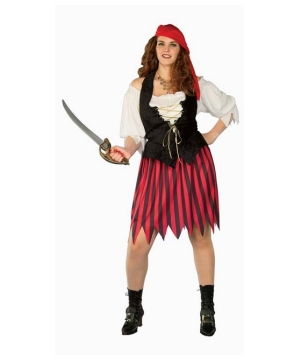 Buccaneer plus size Women Costume