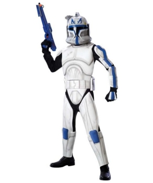 Star Wars Clone Trooper Rex Boys Costume deluxe