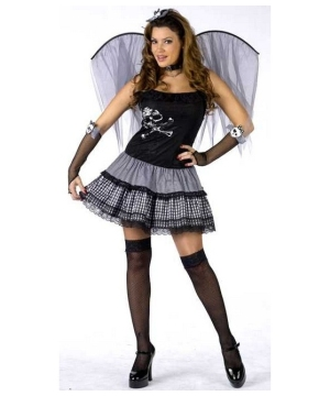 Funky Punk Fairy Women's Costume