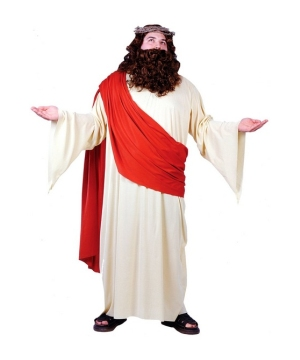 Jesus Mens plus size Costume