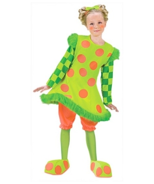Lolli Clown Kids Costume