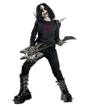 Metal Mayhem Kids Costume