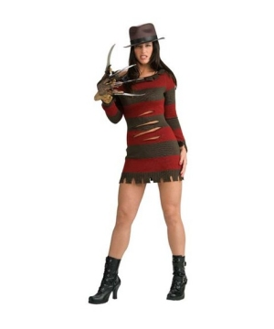 Miss Krueger Women Costume