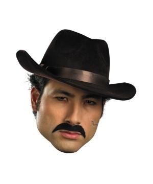 Mustache Gangster Costume