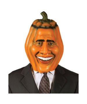 Obama Pumpkin Adult Mask