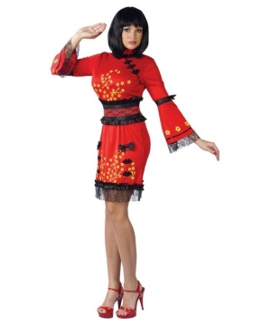 Oriental China Doll Women Costume