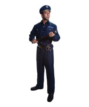 Police Men Costume
